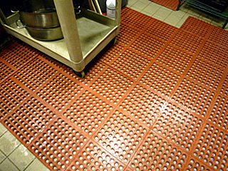 Rubber Kitchen Utility Food Service Mats - Chef's Best